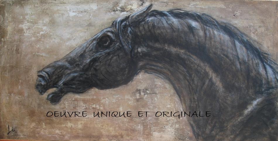 Art en soi tableaux de chevaux - Tableau de cheval ...